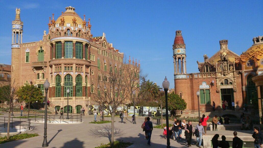 barcelona, architecture, monument